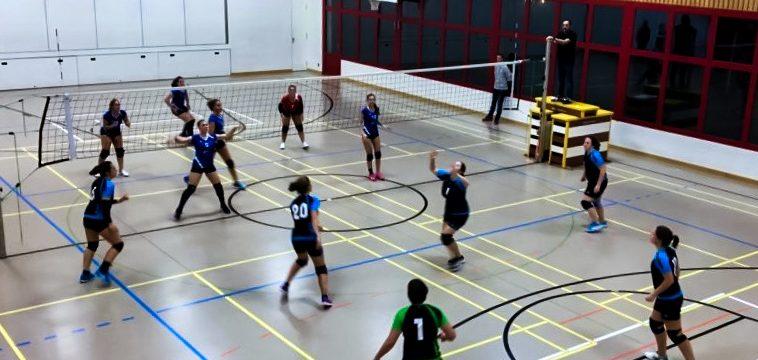20181018 Volero Aarberg-Damen 3 Liga - Studen