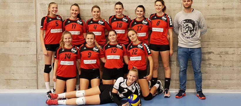 Volero Aarberg Teamfoto Juniorinnen U23 2018