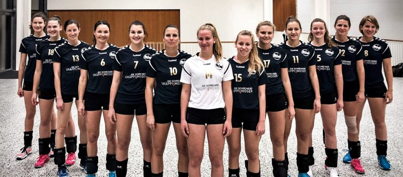 20181102 Volero Aarberg Damen 2 Liga Teamfoto 2018/2019