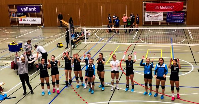 20181103 Volero Aarberg Damen 2 Liga vs Grenchen